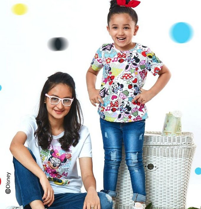Kids Clothing Girls Mickey 90 years